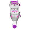 Roller Derby - V-Tech 500 Girls Size Adjustable Inline Skates Grey Purple (Large 6-9) 3rd view