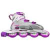 Roller Derby - V-Tech 500 Girls Size Adjustable Inline Skates Grey Purple (Large 6-9) 4th view