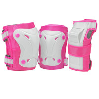 Roller Derby Protective Gear - Cruiser Youth Girls Tri-Pack