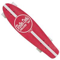 Roller Derby Roller  Skateboard - Retro Red