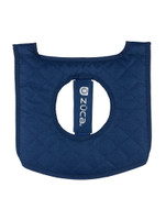 Zuca Seat Cover - Navy & Gray