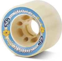 Sure-Grip Sugar Skate Wheels (Set of 8)
