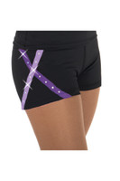 Jerry's 456 X-Bling Ice Skating Shorts - Purple