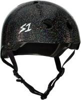 S1 Lifer Helmet - Black Gloss Glitter