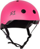 S1 Lifer Helmet - Neon Hot Pink Matte