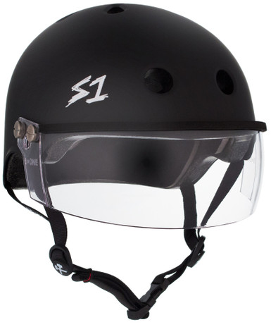 S1 Lifer Visor Helmet - Black Matte