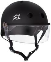 S1 Lifer Visor Helmet - Black Matte