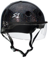 S1 Lifer Visor Helmet - Black Gloss Glitter