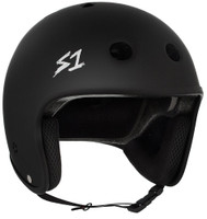 S1 Retro Lifer Helmet - Black Matte