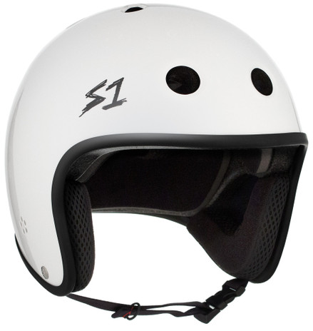 S1 Retro Lifer Helmet - White Gloss