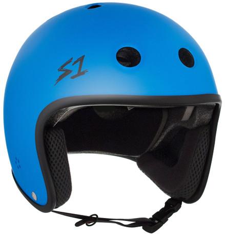 S1 Retro Lifer Helmet - Cyan Matte