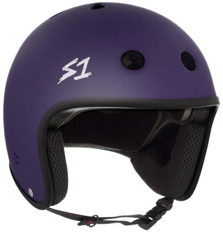 S1 Retro Lifer Helmet - Purple Matte