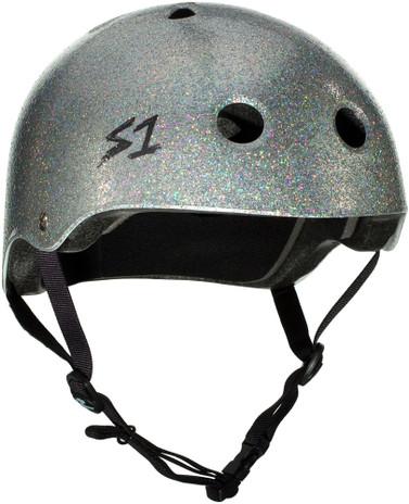 S1 Lifer Helmet - Silver Glitter