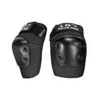 187 Killer Pads Slim Elbow Pads - Black