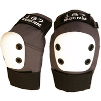 187 Killer Pads Pro Elbow Pads - Grey/White