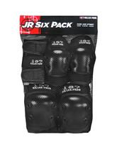 187 Killer Pads Jr Six Pack - Black