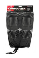 187 Killer Pads Combo Pad Set - Black