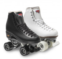 Sure-Grip Quad Roller Skates - Fame-Size 11 Black ONLY