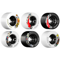 Rollerbones Day of the Dead Speed Wheel ( 62mm, Set of 4)