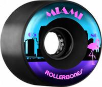 Rollerbones Outdoor Miami Wheel (65mm, 80a, Set of 8)