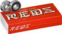 Bones Super REDS Bearings 8mm  (16 pack)