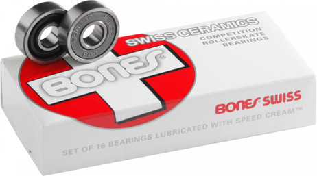Bones Swiss Bearings Ceramic 8mm  (16 pack)