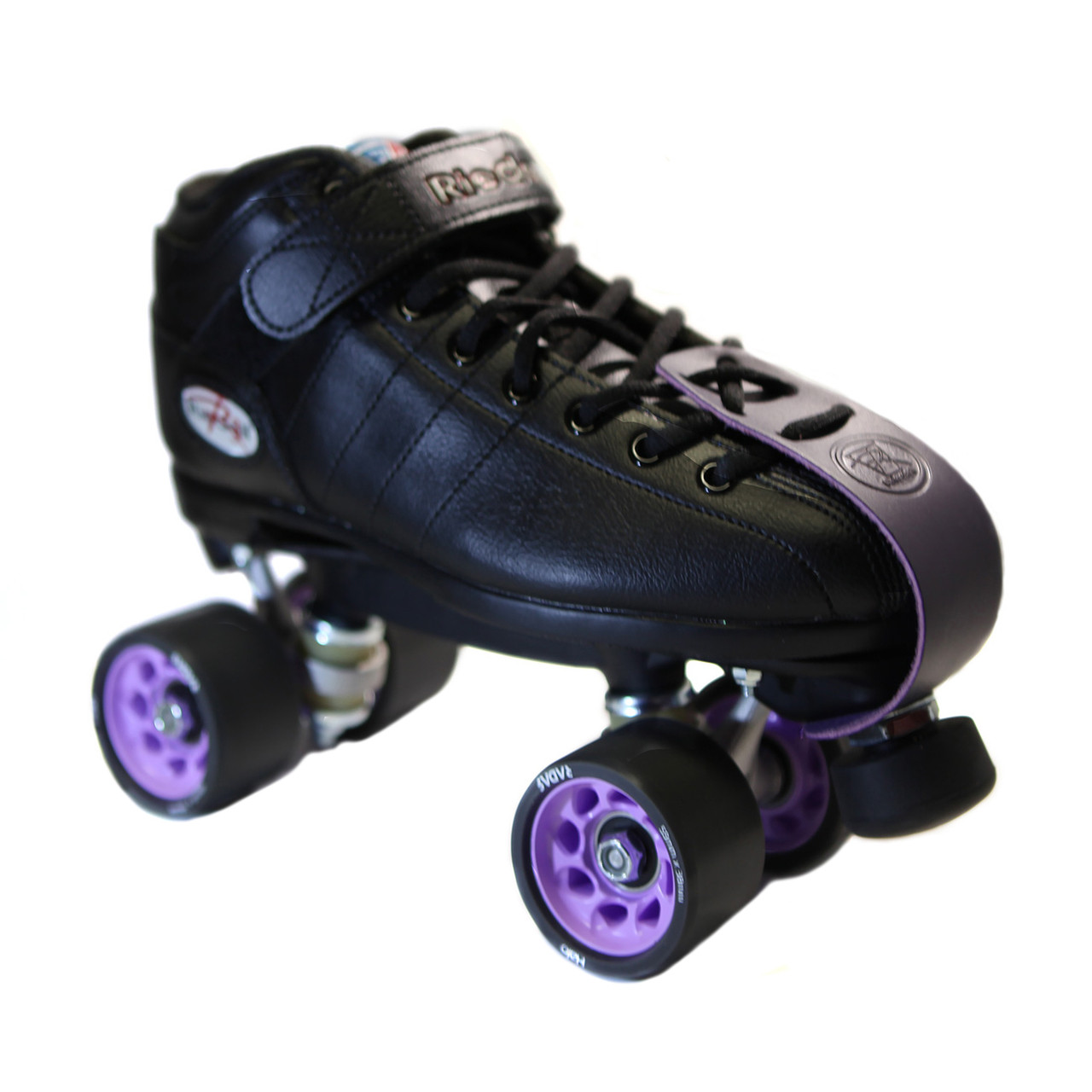 Yellow Demon Roller Skate package 95a Rink setup Riedell R3