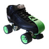 Riedell Quad Roller Skates - R3 Speed Halo 7th view