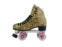 Riedell Quad Roller Skates - Jungle Leopard