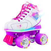 Quad Roller Skates - Flash White