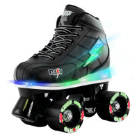 Quad Roller Skates - Flash Black