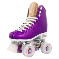 Quad Roller Skates - Disco Glam Purple Glitter