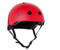 S1 Lifer Helmet - Bright Red Gloss