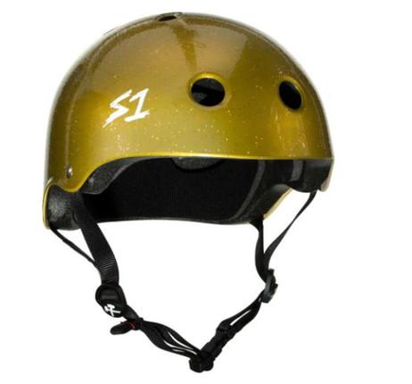S1 Lifer Helmet - Gold Gloss Glitter