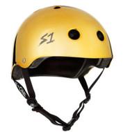 S1 Lifer Helmet - Gold Mirror Gloss