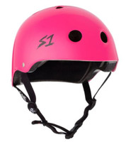 S1 Lifer Helmet - Neon Pink Gloss