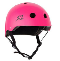 S1 Lifer Helmet - Neon Pink Gloss