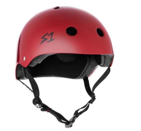 S1 Lifer Helmet - Scarlet Red Gloss