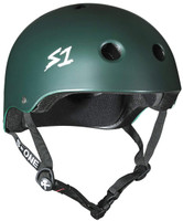 S1 Lifer Helmet -  Dark Green Matte