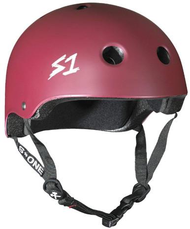 S1 Lifer Helmet - Maroon Matte