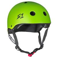 S1 Mini Lifer Helmet - Bright Green Matte