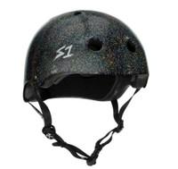S1 Mega Lifer Helmet - Black Gloss Glitter