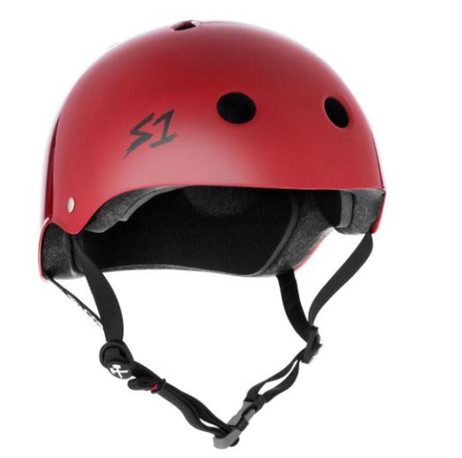 S1 Mega Lifer Helmet - Scarlet Red Gloss