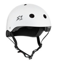 S1 Mega Lifer Helmet - White Gloss