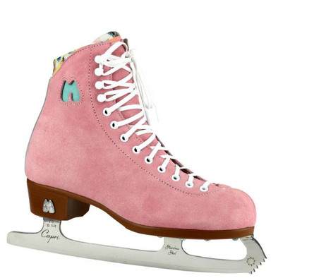 Riedell Ice Skates - Lolly Strawberry