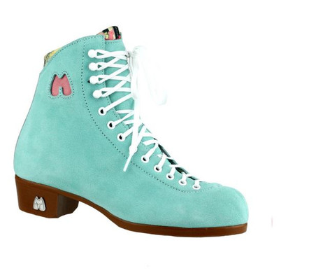 Riedell Ice Skates Boot Only- Lolly Floss with Custom Blades