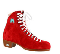 Riedell Ice Skates Boot Only- Lolly Poppy with Custom Blades