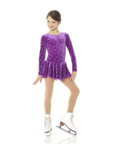 Laced Back Born to Skate Figure Skating Dress - Dragonfly