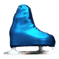 Metalic Figure Skating Boot Covers by Kami-So - Metallic Royal