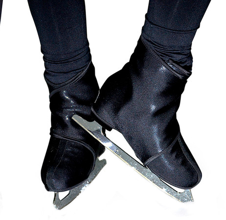 Sk8Wraps - Insulated Skate Boot Covers - Black Sparkle